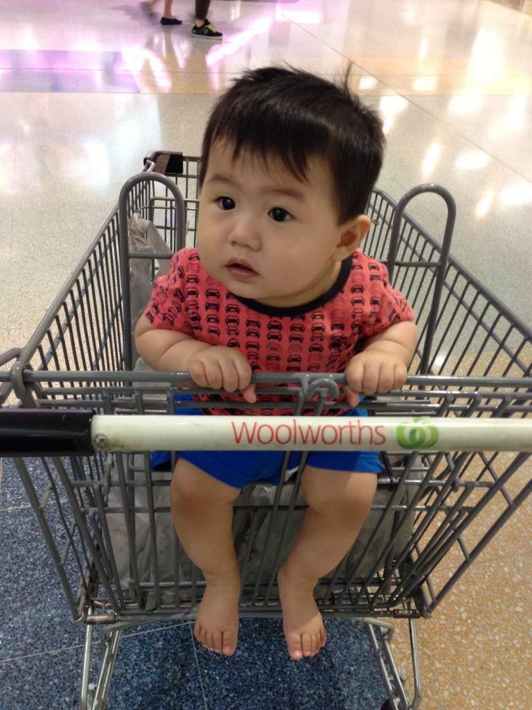Jax visited Woolworths